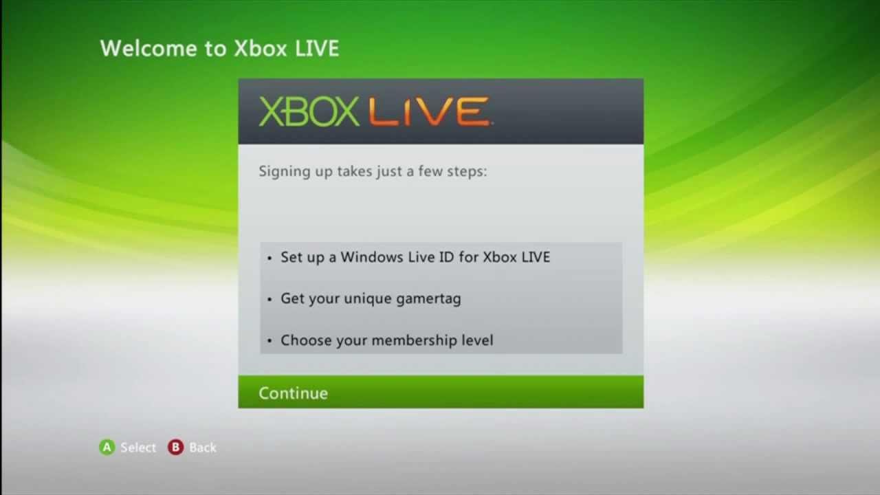 XBOX LIVE 360